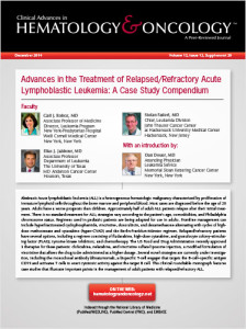 hematology case studies leukemia Introduction acute promyelocytic leukemia with t(1517) is a cancerous disease of the white blood cells in the bone marrow and peripheral blood.