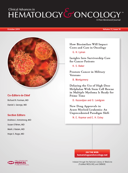 Oncology journal October issue