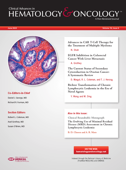 June 2020 Hematology and Oncology journal